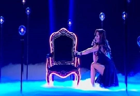 H σέξι εμφάνιση της Βανδή στο «The Voice»