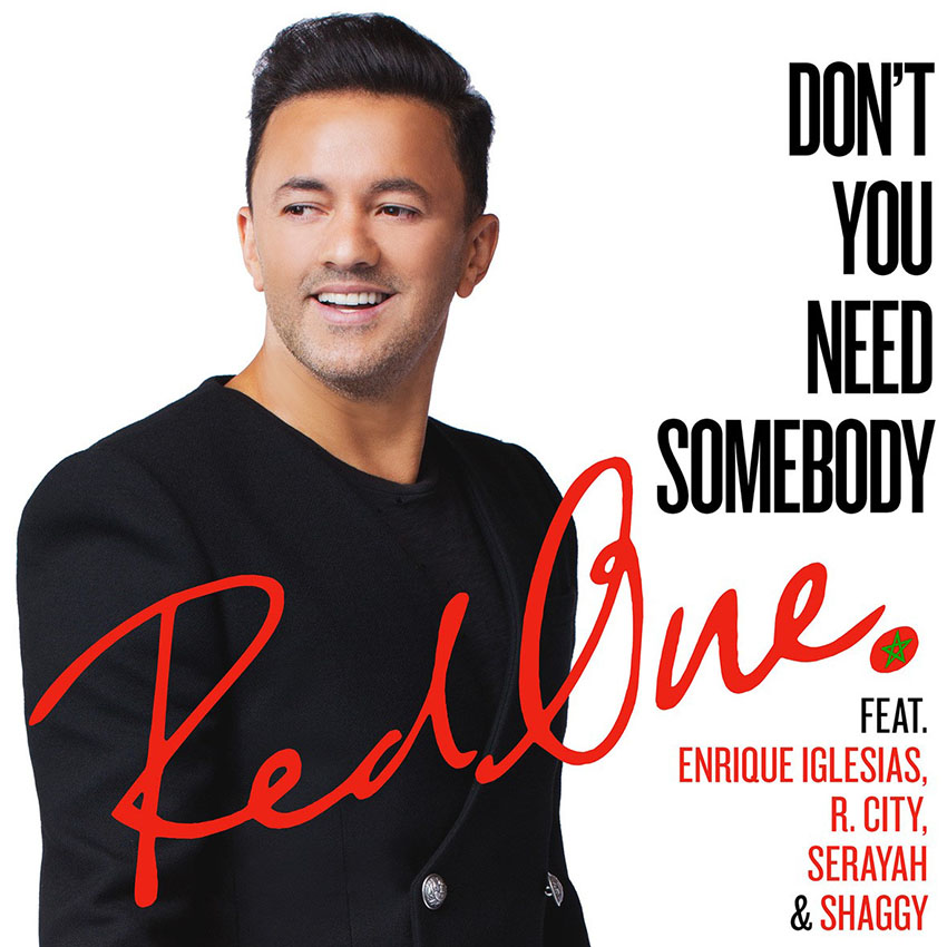 RedOne - right Need someone (Feat. Enrique Iglesias, R. City, Shaggy & Serayah)