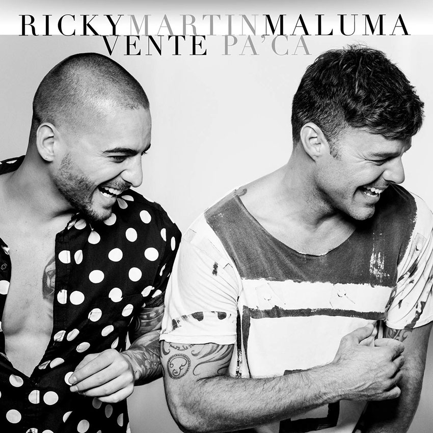 Ricky Martin - Vente Pa'Ca (Feat. Maluma)