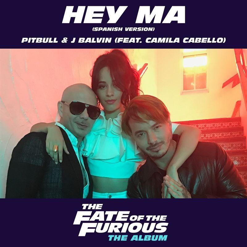 Pitbull & J Balvin - Hey Ma (Feat. Camila Cabello)