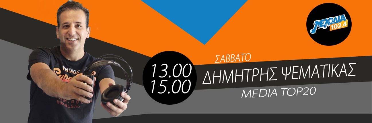 Δημήτρης Ψεματίκας | Σάββατο 13.00 – 15.00