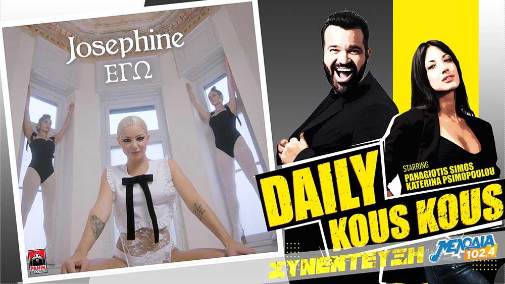 Συνέντευξη Josephine στο Daily Kous Kous στον Μελωδία 102.4
