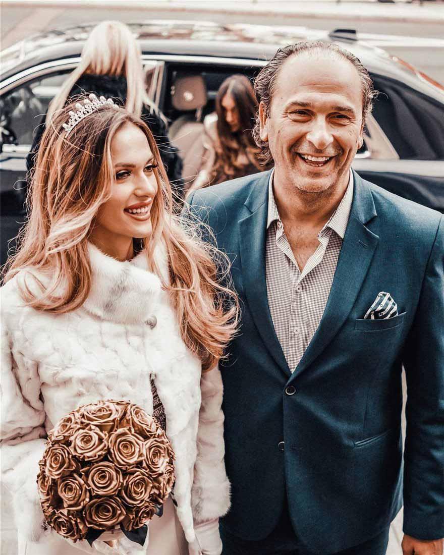 Τέα Πρέλεβιτς φωτογραφίες από τον γάμο