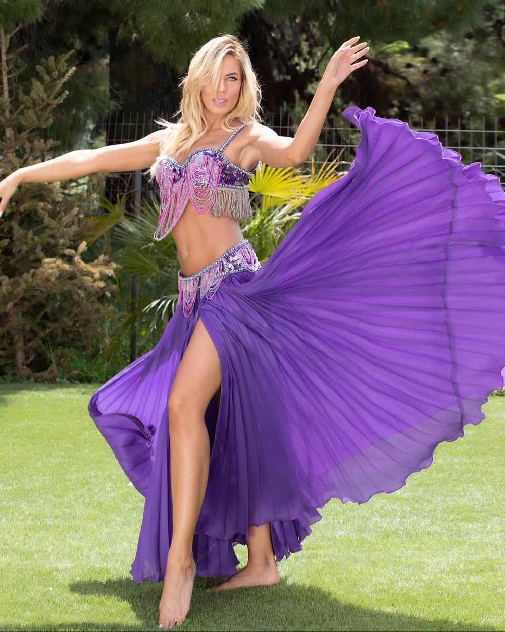 Ιωάννα Μαλέσκου: Αποχαιρέτησε τους τηλεθεατές με… χορό της κοιλιάς