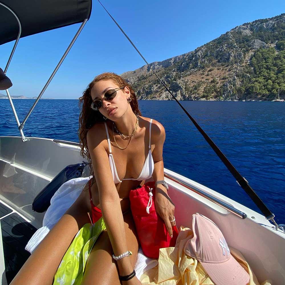 Ελένη Φουρέιρα διακοπές